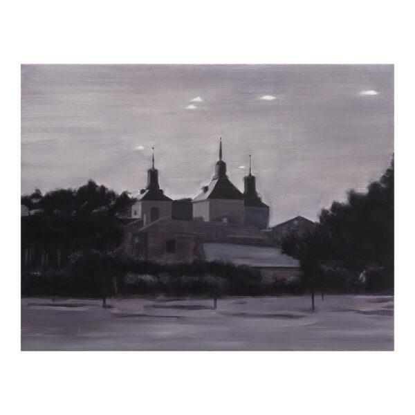 Crónica, 100 x 130 cm, olieverf op doek