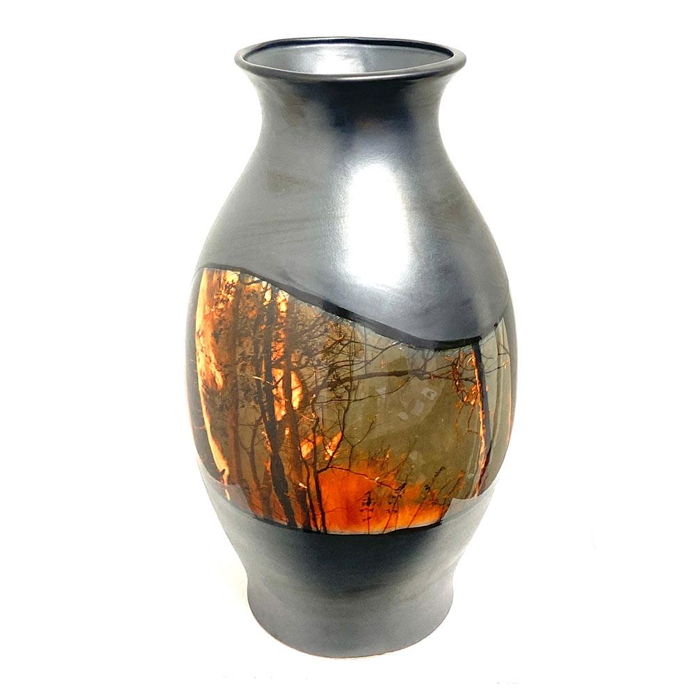 The Fires, 40 x 20 x 20 cm, ceramics