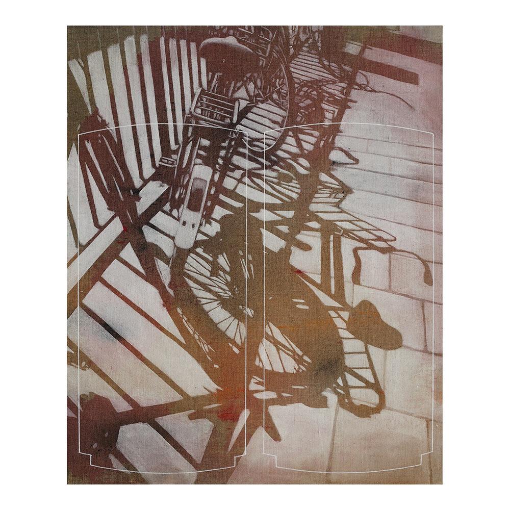 CN19B51.933219L4.464542, 76.5 x 63 cm, acrylic paint on canvas