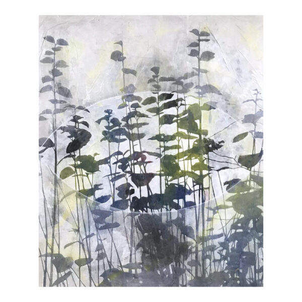 Cultivated Nature, 120 x 100 cm, mixed media on canvas