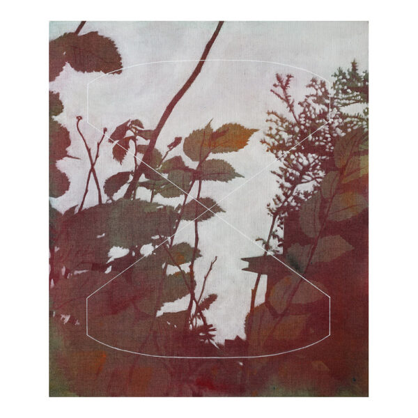 Cultivated Nature #20 B51.914911 L4.485711, 79 x 68 cm, acrylic paint on canvas