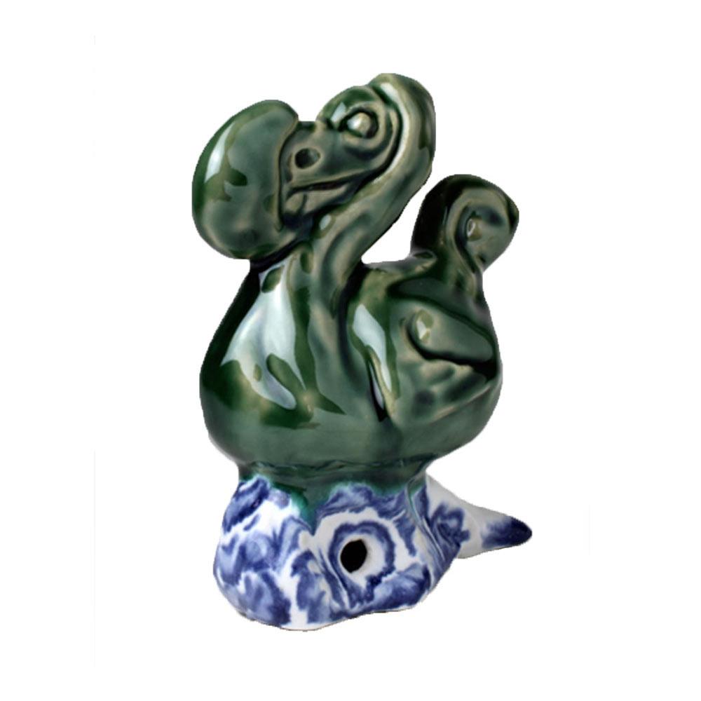 Darwins Dodo (1), 14 x 11 x 7 cm, keramiek