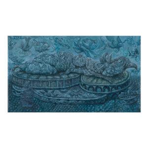 Euforia, 26 x 45 cm, olieverf op doek