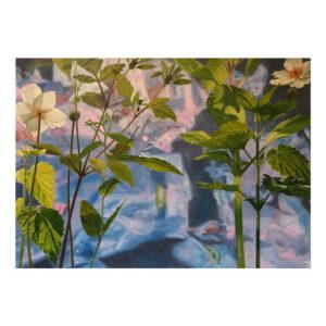 Garden of Eden 1, 50 x 70 cm, olieverf op doek
