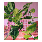 Guerilla Gardening 11, 100 x 90 cm, olieverf op doek