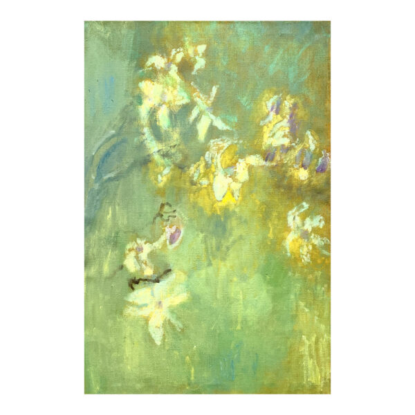 Magnolia, 97 x 65 cm, oil paint on canvas