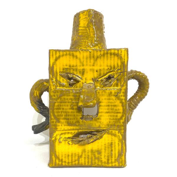 Masker, 29 x 13 x 11 cm, ceramics
