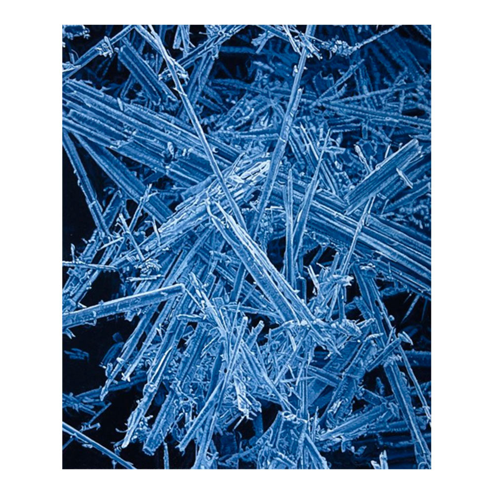 Nano IV (Posassium Ferrocyanide), 60 x 50 cm, olieverf op doek