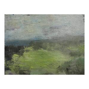 Ruhrauen, 18 x 24 cm, olieverf op doek