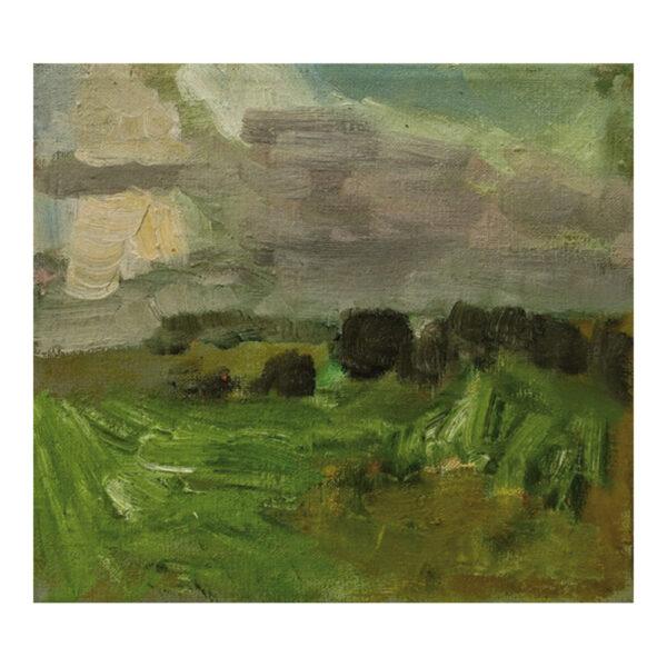 Schwarzbachtal, 26 x 29 cm, olieverf op doek