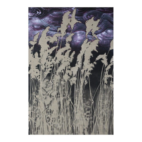 Sound of winter #1, 180 x 120 cm, acrylic paint on canvas