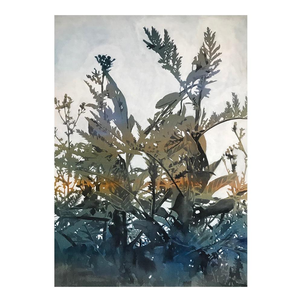 Summer Sonata #4, 140 x 100 cm, mixed media on canvas