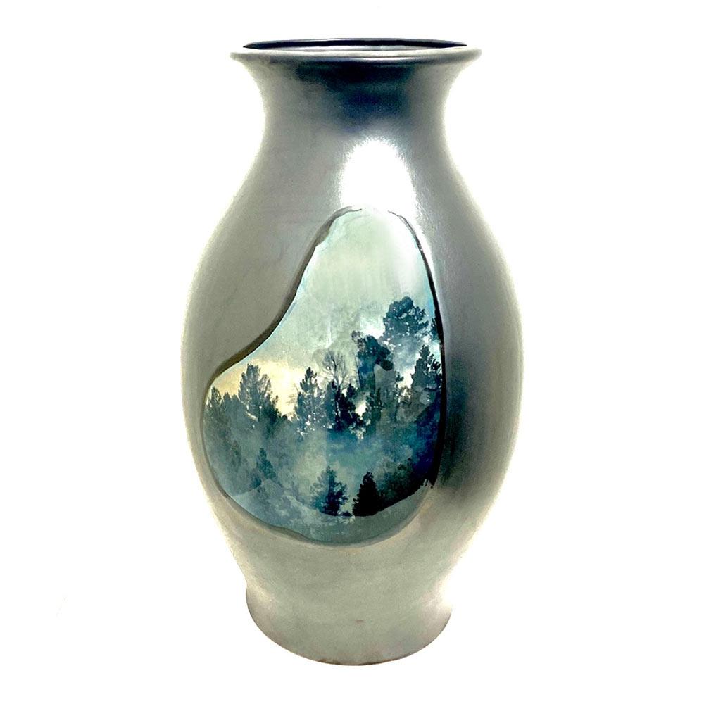 The Fires, 40 x 20 x 20 cm, ceramics (back)