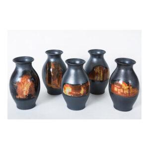 The Fires, 40 x 20 x 20 cm, keramiek