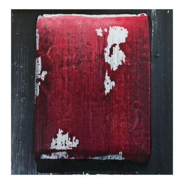 Zonder titel, 30 x 30 cm, olieverf op doek