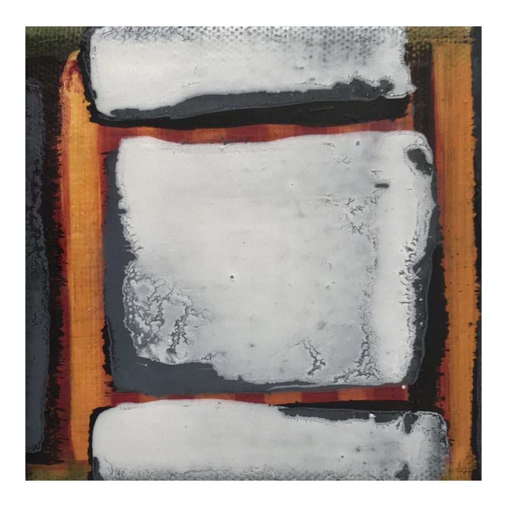 Zonder titel, 10 x 10 cm, olieverf op doek