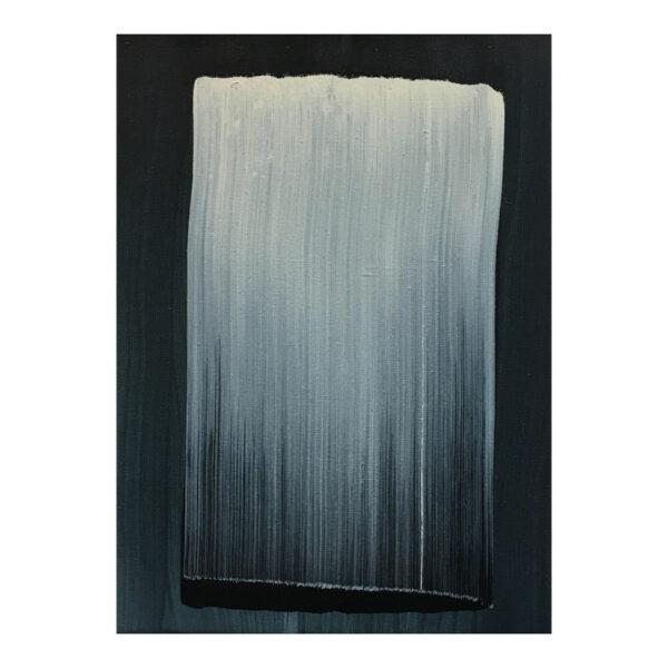 Zonder titel, 40 x 30 cm, olieverf op doek